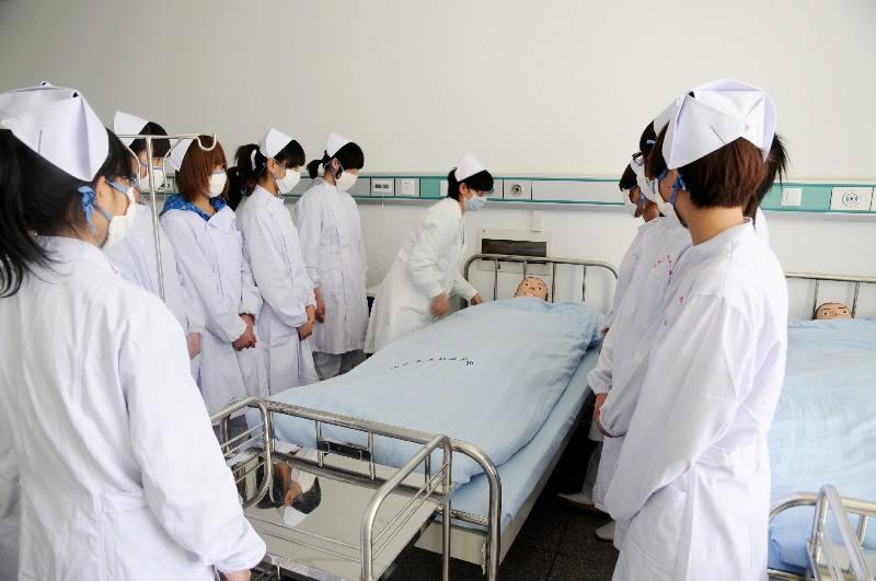 护理专业模拟真人练习