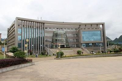 贵州六盘水职业技术学院-学校教学楼
